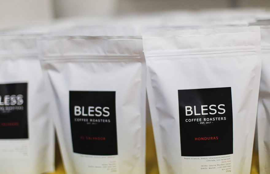 kontakt - bless coffee roasters